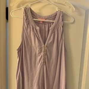 Pale Lavender Lily Pulitzer Tank Top